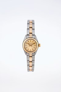 Rolex Oyster Perpetual 18K Yellow Gold & Stainless Steel Watch