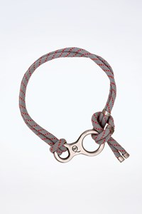 MCQ Grey-Red Rope Belt