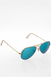 Ray Ban RB3025 Large Aviator Metal Sunglasses