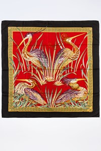 Salvatore Ferragamo Multicoloured Silk Scarf