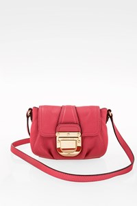 MICHAEL Michael Kors Fuchsia Charlton Crossbody Leather Bag
