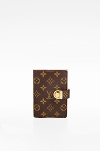 Louis Vuitton Monogram Canvas Small Ring Agenda Cover with Address Book