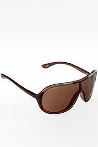 Tom Ford Brown Farrah Acetate Sunglasses