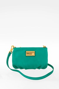 Marc By Marc Jacobs Turquoise Classic Q Percy Leather Crossbody Mini Bag