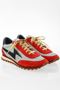 Marc Jacobs Tricoloured Textured Sneakers / Size: 38 - Fit: 37.5