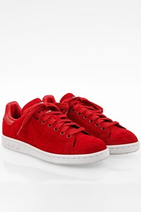 Adidas Power Red Suede Stan Smith W / Size: 38 - Fit: True to size