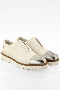 Hogan White H259 Route Elastico Slip On / Size: 37 - Fit: True to size