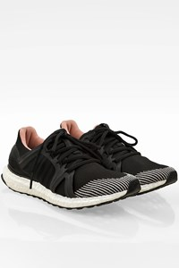 Adidas by Stella McCartney Black Ultra Boost Running Sneakers / Size: 38 - Fit: True to size