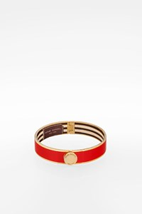 Henri Bendel Red Metallic Bangle