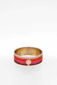 Henri Bendel Multicolored Metallic Bangle