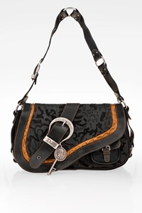Dior Large Embossed Saddle Bag