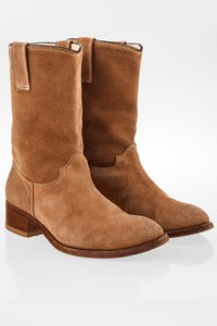 Pinko Beige Suede Ankle Boots / Size: 37 - Fit: True to size