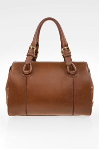 Céline Brown Leather Tote Bag
