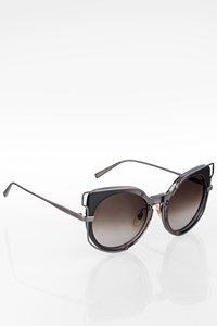 MCM 665S Grey Acetate and Metal Sunglasses