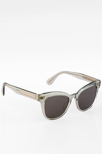 Oliver Peoples Marianela Green Transparent Acetate Sunglasses