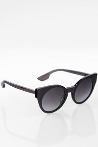 MCQ 0074S Black Acetate Sunglasses