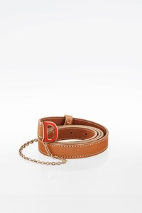 Dsquared2 Tan D Clasp Leather Belt
