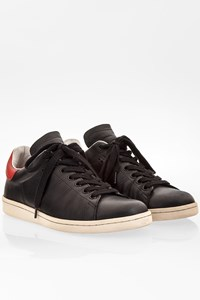 Isabel Marant Etoile Bart Black Leather Sneakers / Size: 39 - Fit: 38.5