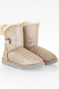 Ugg Bailey Pearl Swarovski Crystal Button Bling Boots / Size: 38 - Fit: True to size