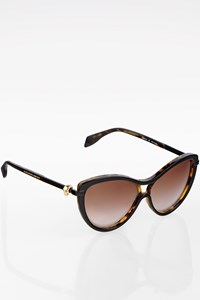 Alexander McQueen AM0021S  Tortoise Shell Acetate Sunglasses