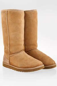 Ugg Beige W Classic Tall Boots / Size: 39 - Fit: True to size