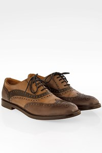 Fratelli Rossetti Tricolor Leather Oxford / Size: 36.5 - Fit: True to size