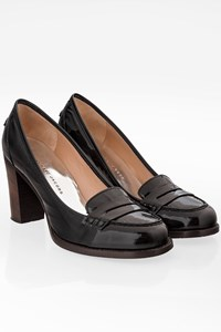 Marc By Marc Jacobs Black Patent Leather Pumps / Size: 37.5 - Fit: 37