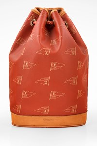 Louis Vuitton Limited Edition Americas Cup Saint Tropez Canvas Backpack