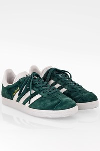 Adidas Gazelle W Green Suede Sneakers / Size: 38 - Fit: True to size