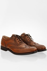 Church's Tan Polished Binder Oxford Brogues / Size: 38.5 - Fit: True to size