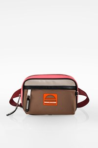 Marc Jacobs Color Block Satin Waist Bag