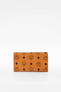 MCM Coganc Canvas Flap Wallet