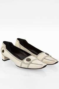 Tod's White Patent Leather Pumps / Size: 37 - Fit: 37.5