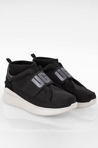Ugg Black Canvas W Neutra Sneakers / Size: 38.5 - Fit: True to size