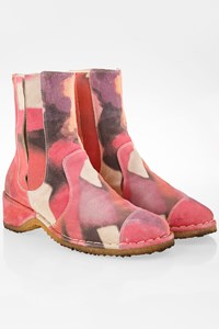 Chanel Multicolor Tie Dye Suede Booties / Size: 40 C - Fit: 39