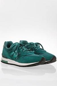 New Balance WL565STT Teal Blue Suede Sneakers / Size: 38 - Fit: 38.5