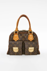 Louis Vuitton Monogram Canvas Manhattan PM Tote Bag