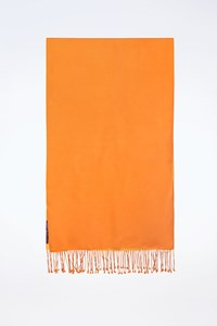 Ralph Lauren Orange-Yellow Double Sided Shawl