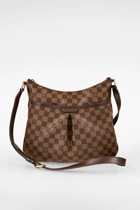 Louis Vuitton Bloomsbury Damier Ebene PM Canvas Crossbody Bag