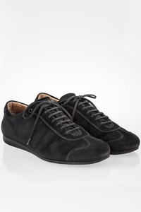 Car Shoe Black Suede Sneakers / Size: 41.5