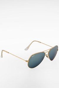 Ray Ban 3025 Gold Metal Aviator Sunglasses