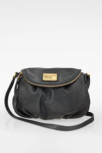 Marc By Marc Jacobs Blue Leather Classic Q Natasha Bag