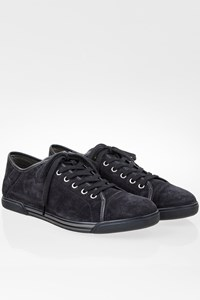Hogan Rebel Blue Suede Lace Up Men's Sneakers / Size: 42 (8) - Fit: True to size