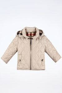 Burberry Baby Beige Quilted Lightweight Jacket / Size: 3MONTHS / 60cm