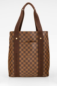 Louis Vuitton Brown Damier Ebene Beaubourg Cabas Tote Bag