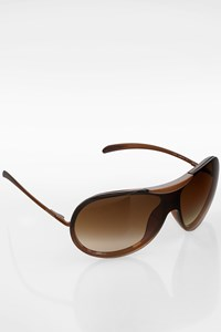 Chanel 6006 Brown Oversize Mask Sunglasses