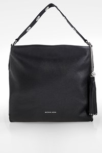 MICHAEL Michael Kors Black Leather Shoulder Bag