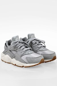 Nike Grey Air Huarache Run Sneakers / Size: 39 - Fit: 38