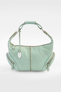 Tod's Pistachio Green Small Charlotte Shoulder Bag