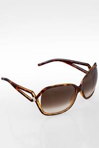 Dior Brown Tortoise Shell Acetate Sunglasses
